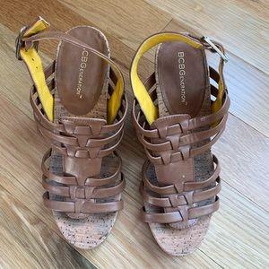 BCBG Generation Sandals Size 7